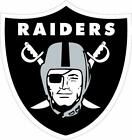 Oakland Raiders Decal ~ Car / Truck Vinyl Sticker - Wall Graphics, Cornholes $14.99 USD on eBay