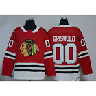 Men Clark Griswold 00 X Mas Christmas Vacation Movie Hockey Jersey Stitched Red