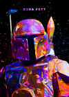Star Wars Trilogy Film Poster Collection Wall Art Print Boba Fett Character