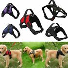 Padded Saddle Shape Nylon Chest Strap Lead Walking Pet Harness Dog Vest Collar