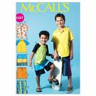 McCall Patterns M6548 Children's/Boys' Shirt, Top and Shorts, Size CHJ