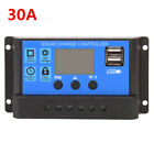 PWM 10A/20A/30A Solar Panel Controller Battery Charge Regulator Dual USB PN1
