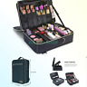 Lifewit 3-Layers Makeup Bag Train Case, Travel Cosmetic Organizer Bag with Ad...