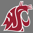 Washington State Cougars NCAA Football Vinyl Sticker Car Truck Window Decal Yeti