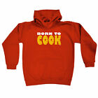 Funny Kids Childrens Hoodie Hoody - Born To Cook