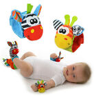 Cute Cartoon Soft Baby Wrist Strap Rattle Toy Musical Development Bell Kids Toy