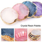 Natural Resin Stone Nail Art Color Display Palette Acrylic Gel Polish Holder  for sale  Shipping to Canada