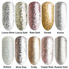 BORN PRETTY Glitter UV Gel Nail Polish Silver Golden Bling Collection