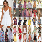 Women Summer Boho Maxi Dress Evening Cocktail Party Beach Dresses Sundress Lot