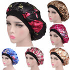 Kyпить US Women Satin Night Sleep Cap Hair Bonnet Hat Silk Head Cover Wide Elastic Band на еВаy.соm