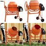 More images of Heavy Duty Electric Concrete Cement Mixer Mortar Plaster Machine Tilting Wheeled