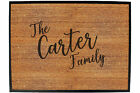 Funny Doormat Novelty Door Mat Birthday Home Office - the family carter