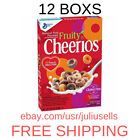 12 Boxs-Fruity Cheerios Gluten Free, Breakfast Cereal, 10.6 Oz new