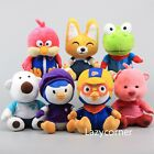 Korea Pororo Plush Toy Crong Eddy Loopy Petty Harry Poby Stuffed Animal Doll 9''