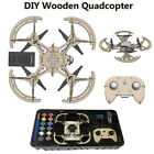DIY Wooden Quadcopter 2.4GHz Remote Control Drone With HD Camera Aerial Aircraft