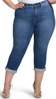 NEW CURVES 360 by NYDJ slim straight crop jeans $99