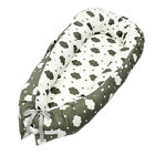 Washable Newborn Bed Cotton Print Uterus Bionic Bed Portable Removable Foldable