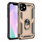 For iPhone 7 8 Plus Case Magnetic Shockproof Bumper Rugged Silicone Stand Cover