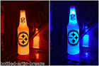 NFL Pittsburgh Steelers Football 12 oz Beer Bottle Light LED lamp sign tickets $19.99 USD on eBay