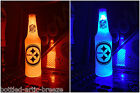 NFL Pittsburgh Steelers Football 12 oz Beer Bottle Light LED lamp sign tickets $21.99 USD on eBay