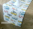 Camper Table Runner RV Camping Retro Vintage Home Decor Dining Table LInens
