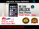 UNLOCK SERVICE AT&T IMEI ATT FOR IPHONE, HUAWEI AND SAMSUNG PHONES - AT&T ONLY