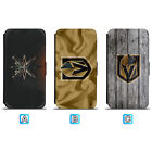 Vegas Golden Knights Leather Case For iPhone X Xs Max Xr 7 8 Plus Galaxy S9 S8 $7.99 USD on eBay