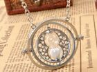 Harry Potter Necklace Hermione Converter Time Turner Sand Spin Pendant