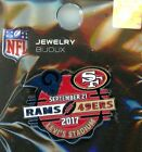 49ers 2017-18 Game Day Pin Choice 4 pins San Francisco Forty Niners