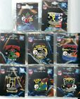 Steelers 2013 Game Day Pin Choice 5 pins Dolphins Ravens Lions Bengals Titans on eBay