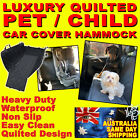 PET CAR BACK SEAT COVER Premium Waterproof Cat Dog Hammock Nonslip Protector Mat