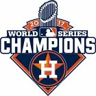Houston Astros World Series CHAMPIONS 2017 Decal / Sticker on Ebay