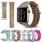 40mm/44mm Slim Genuine Leather iWatch Band Women Strap for Apple Watch Series 4 image