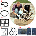 Reusable Path Floor Mould DIY Path Way Maker Garden Lawn Paving Concrete Mold  image