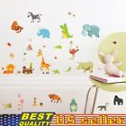 Very Lovely Room Decoration Animal Map  Bedroom Living  Diy Wall Stickers