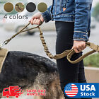 Внешний вид - Retractable nylon rope Dog Leash Tactical K9 for large dog Heavy duty coupler