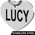 Stainless Steel Pet ID Tags Dog Tags Personalized Front and Back Engraving <br/> MADE IN USA - LIFETIME WARRANTY - BUY 3 GET 1 FREE