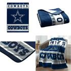 Licensed Nfl Dallas Cowboys Luxury Plush Queen Blanket 60 X 80 Inches Soft New on eBay