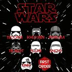 Star Wars Force Awakens First Order Decal $7.5 USD on eBay