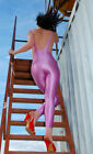 Gennady 300-17 Spandex Women Long Very Open Catsuit Choose You Size and Color
