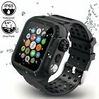 For Apple Watch 5/4 Series 44mm Wateproof Case Full Rugged Protective With Bands image