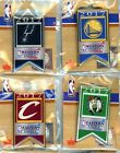 2017 NBA Conference Finals Team Banner Pin Choice Warriors Spurs Cavs Celtics on eBay