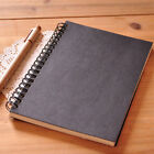 Retro Spiral Bound Coil Sketch Book Blank Notebook Kraft Sketch Paper Gift