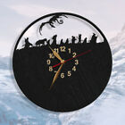 The Hobbit Wall Clock WOOD BIG An Unexpected Journey Bilbo Baggins Wall Decor