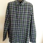 Mens collared shirt long sleeves button down brand Goodfellow  NWT color blue