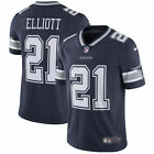 EZEKIEL ELLIOTT NIKE DALLAS COWBOYS BLUE VAPOR UNTOUCHABLE LIMITED JERSEY $150 $89.99 USD on eBay