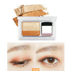 Beauty Easy Shimmer Two-color Stamp Eyeshadow Palette Soft Nature Makeup Powder