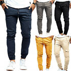 Mens Slim Fit Joggers Military Army Combat Cargo Long Pants Casual Work Trousers
