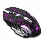Gaming Maus USB Gamer Mouse PC Wireless Maus Notebook Laptop 1800DPI LED 2.4GHz