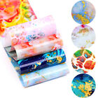 Mixed Patterns Nail Foils Flower Transfer Sticker Nail Art Decoration 95 3.7cm